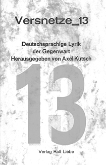 Cover der Anthologie Versnetze 13
